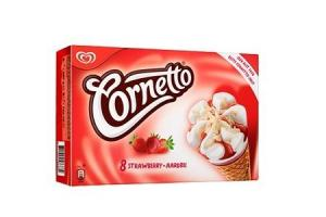cornetto aardbei