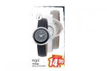 regal horloge wit grijs of zwart