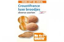 croustifrance luxe broodjes
