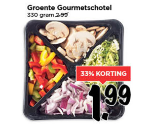 groente gourmetschotel