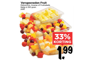 versgesneden fruit