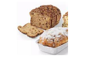 muesli  krenten  suiker  en rozijnenbrood