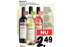garcons wijn