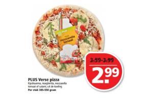 plus verse pizza