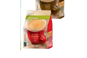 plus fairtrade koffiepads