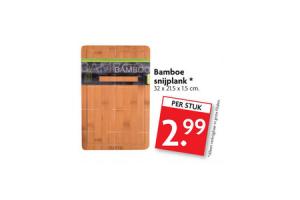 bamboe snijplank