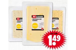 vers en voordelig gesneden kaas