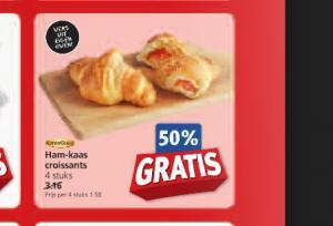 ham kaas croissants