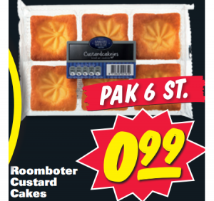 roomboter custard cakes