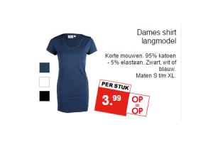 dames shirt langmodel