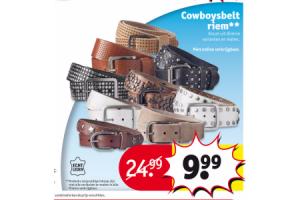 cowboysbelt riem
