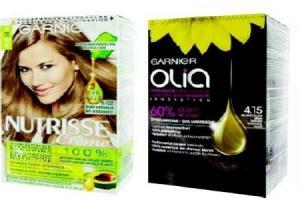 garnier olia en nutrisse haarkleuring