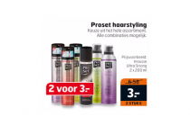 proset haarstyling