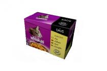 whiskas variatiepak gevogelte selectie in saus