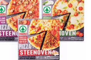 spar steenoven pizzas