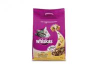 whiskas droge brokjes kip en groenten 4000gr