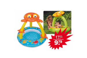 babyzwembad met afdak