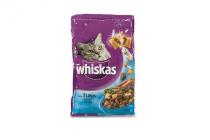 whiskas droge brokjes tonijn en groenten 300gr