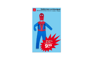 spiderman verkleedpak