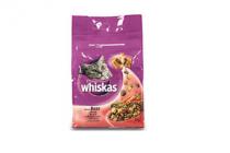 whiskas droge brokjes rund en worteltjes 4000gr