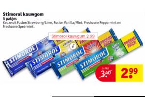 stimorol kauwgom