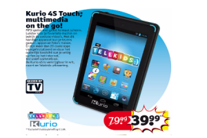kurio 4s touch multimedia on the go