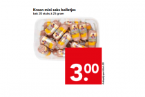 kroon mini saks bolletjes