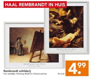 rembrandt schilderij