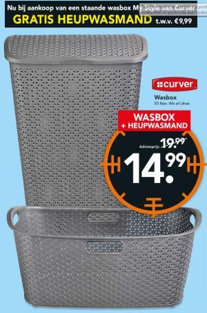 curver wasbox plus heupwasmand
