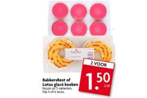 bakkersbest of lotus glace koeken