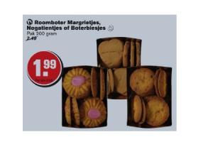 roomboter margrietjes nogatientjes boterbiesjes