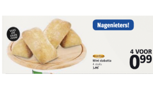 korengoed mini ciabattas