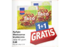 perfekt mexicaanse kruidenmix