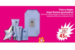 thierry mugler angel woman geschenkset