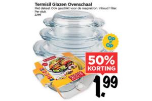 termisil glazen ovenschaal