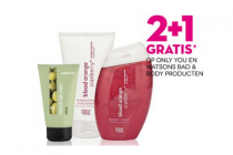 only you en watsons bad  bodyproducten