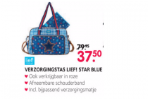 verzorgingstas lief star blue