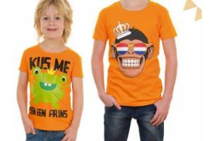 oranje jongens t shirt