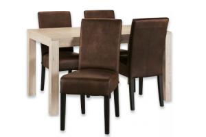 set tafel yorit en stoelen teun