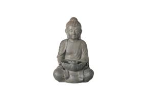 tuinbeeld boeddha fontein