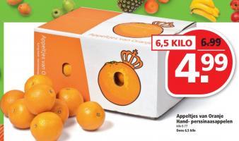 appeltjes van oranje hand  perssinaasappelen