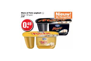 mars of twix yoghurt