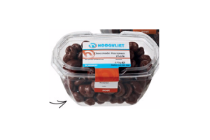 chocoladepindas of rozijnen