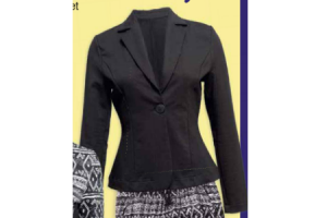 dames sweatblazer