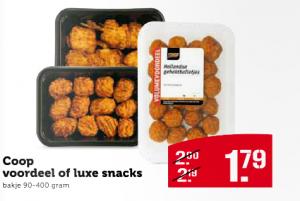 coop voordeel of luxe snacks