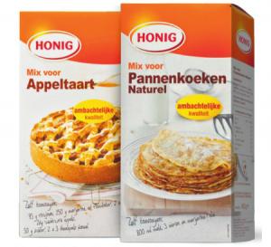 honig mix voor cake  appeltaart appel crumble of pannenkoeken naturel