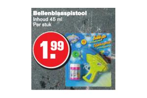 bellenblaaspistool