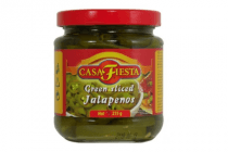 casa fiesta green sliced jalapenos