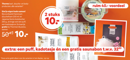 therme bad  douche  en bodyproducten