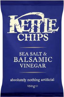 kettle chips sea salt  balsamic vinegar